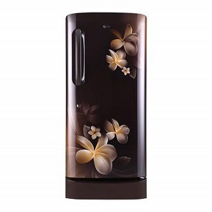 ShoppingMantraS.com-sharing-best-offer-on-LG-215-L-5-Star-Direct-Cool-Single-Door-Refrigerator-GL-D221AHPY-Hazel-Plumeria.-Compare-price-and-buy-now.