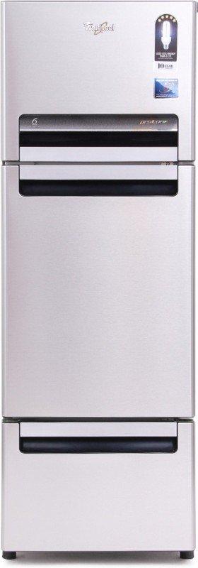 whirlpool-240-l-frost-free-triple-door-refrigeratoralpha-steel-fp-263d