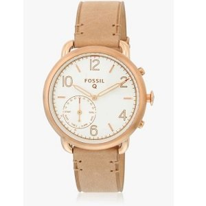 ShoppingMantraS.com sharing Best Offer on Fossil Q Tailor Ftw1129 Beig-White Hybrid Smart Watch. checkout now and buy at best price in India.