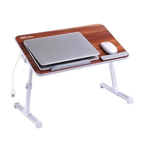 ShoppingMantraS.com sharing Best Offer on Portronics POR-895 Adjustable Laptop Table (Brown). checkout now and buy at best price in India.