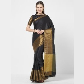 ShoppingMantraS.com sharing Best Offers on Rajesh Silk Mills Embellished Saree - Myntra. checkout now and buy at best price in India.