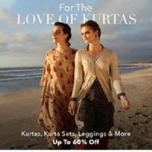 ShoppingMantraS.com sharing Best Deal on Women's Kurta Fest on Myntra - Get Upto 70% Off on Kurtas, Kurta Sets and more. Must checkout before stock goes out