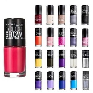 Offers on Maybelline Nail Polish starting from Rs. 55