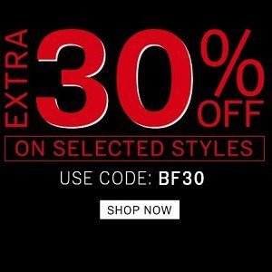 NNNOW The Black Friday sale ( 22nd -25th Nov ) Extra 30% off on Selected styles