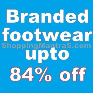 Branded footwear upto 84% off (Puma, USB, Polo, Adidas & many more)