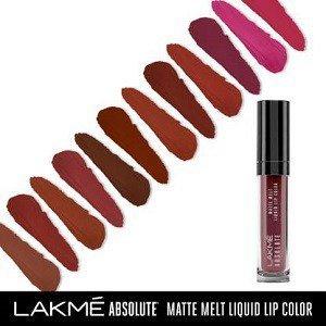 Lakme Absolute Matte Melt Liquid Lip Color at 50% Off