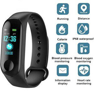 MyTech M3 XK33 Fitness Smart Band at 87% Off - shoppingmantras.com - images