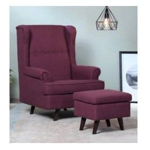 Pepperfry Offer - Get upto 50% off on Wing Chair