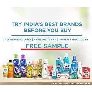Get Free Hindustan Unilever Smartpick Product Boxes - shoppingmantras