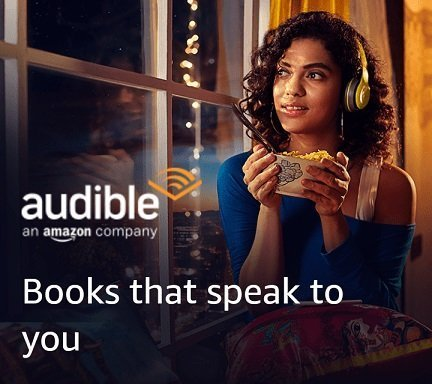 Amazon Audible Bounty Creatives for shoppingmantras.com images