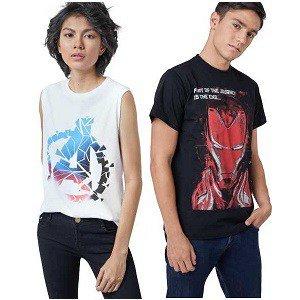 Marvel X Zilingo Topwear at minimum 70% Off for Men's & Women's - shoppingmantras.com - images.jpeg