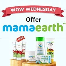 Mamaearth Wow Wednesday Offer