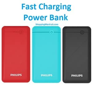 Best Offer on Philips Fast Charging Power banks - Starts From Rs.599 - shoppingmantras.com images