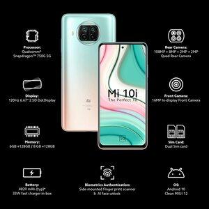 Mi 10i 5G - (6GB RAM, 128GB - 8GB RAM, 128GB) in India