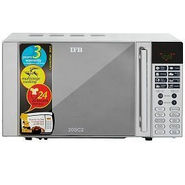 IFB 20 L Convection Microwave Oven 20SC2 Metallic Silver With Starter Kit