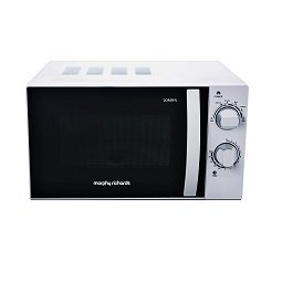 Morphy Richards 20 Litres Solo Microwave Oven with Large Turntable (20MWS, White)