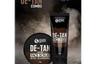 Offer on Beardo De-Tan Combo for Men