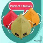 Droom Mask Sale Pack Of 3 Droom Masks @ Just Rs.9