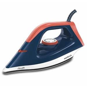 Havells Stealth 1000 W Dry Iron (Blue Orange)