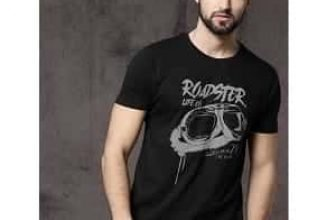 Roadster Men's T-Shirts Upto 80% Starts from Rs.187