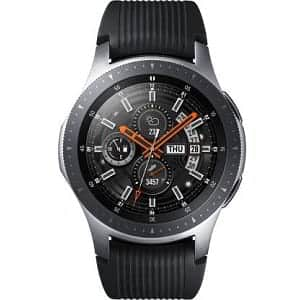 SAMSUNG Galaxy Watch 46 mm Smartwatch (Black Strap Regular)