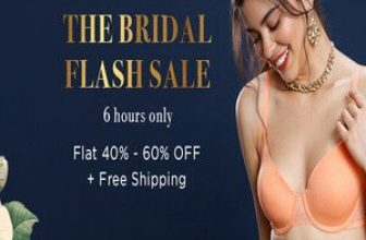 Zivame The Bridal Flash Sale - Flat 40% - 60% Off + Free Shipping
