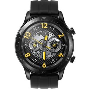 Realme Watch S Pro (Black Strap Regular) #JustHere